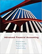 Advanced Financial Accounting by Richard E.…