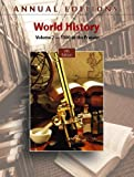 Mitchell, Joseph: Annual Editions: World History, Volume 2: 1500 to the Present, 9/e