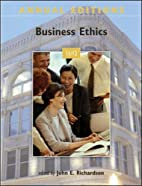 Annual Editions: Business Ethics 11/12 by…