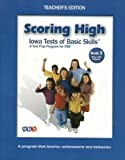 Wright Group/McGraw-Hill: Scoring High Teacher Edition W/Poster, Grade 3