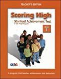 Wright Group/McGraw-Hill: Scoring High on the Metropolitan Achievement Tests, Book 1, Teacher's Edition
