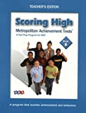 Wright Group/McGraw-Hill: Scoring High on the MAT 8 - Teacher Edition with Poster - Grade 8