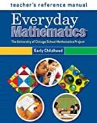 Everyday Math Grade Pre-K--K: Teacher's…