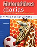 Max Bell: Mathematicas Diarias Diario Del Estudiante Volumen 2 (The University of Chicago School Mathematics Project, 2)
