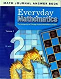 Max Bell: Everyday Mathematics Math Journal Answer Book, Grade 2/Volume 2