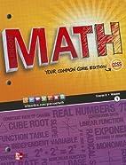 Math, Course 3, Vol. 1 (Common Core Edition)…