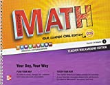 Carter: Glencoe Math Common Core Edition CCSS Course 3 Volume 2 Teacher Edition 9780076620180 / 0076620182