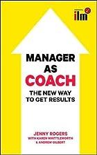 Menadzer jako coach. Nowoczesny styl…