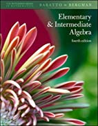 Elementary and Intermediate Algebra, 4th ed.…