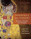 Olson, David: Marriages and Families: Intimacy, Diversity, and Strengths w/ AWARE Inventory