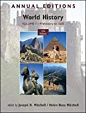 Mitchell, Joseph: Annual Editions: World History, Volume 1: Prehistory to 1500