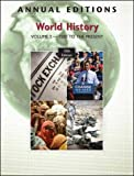 Mitchell, Joseph: Annual Editions: World History, Volume 2: 1500 to the Present, 10/e