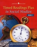 Not Available: Timed Readings Plus In Social Studies: Book 3; 25 Two-Part Lessons With Questions for Building Reading Speed and Comprehension