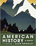 American History: A Survey, 13th Edition&hellip;