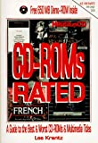 Krantz, Les: Cd-Roms Rated: A Guide to the Best & Worst Cd-Roms & Multimedia Titles/Book and Cd-Rom