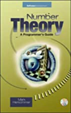 Number Theory: A Programmer's Guide by Mark…