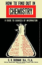 How to find out in chemistry by Charles…