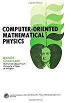 Computer-oriented mathematical physics by…