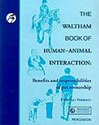 The Waltham Book of Human-Animal…