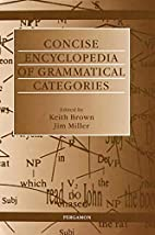 Concise Encyclopedia of Grammatical…