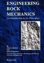 Engineering Rock Mechanics by J. A. Hudson