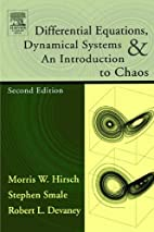Differential Equations, Dynamical Systems,…