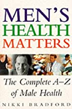 Men's Health Matters by Nikki Bradford