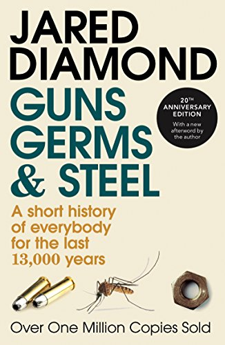 Cover of Guns, Germs and Steel by Jared Diamond