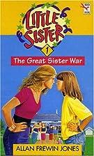 The Great Sister War by Allan Frewin Jones