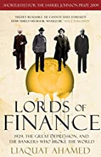 Lords of Finance: 1929, The Great…