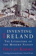 Inventing Ireland (Convergences: Inventories…