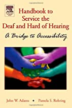 Handbook of Services for the Deaf and the…