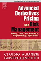Advanced Derivatives Pricing and Risk…