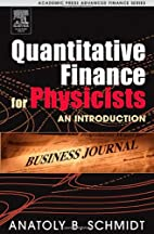 Quantitative Finance for Physicists: An…