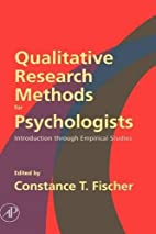 Qualitative Research Methods for…