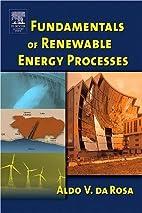 Fundamentals of Renewable Energy Processes…