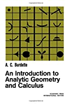 An introduction to analytic geometry and…