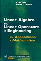 Linear Algebra and Linear Operators in…