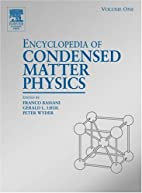 Encyclopedia Dictionary of Condensed Matter…