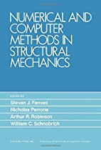 Numerical and computer methods in structural…