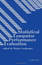 Statistical Computer Performance Evaluation…
