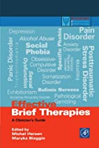 Effective Brief Therapies: A Clinician's…