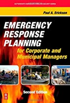 Emergency Response Planning for Corporate…