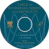 Jeffrey, Alan: Table of Integrals, Series and Products CD ROM, Seventh Edition