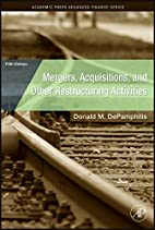 Mergers, Acquisitions, and Other…