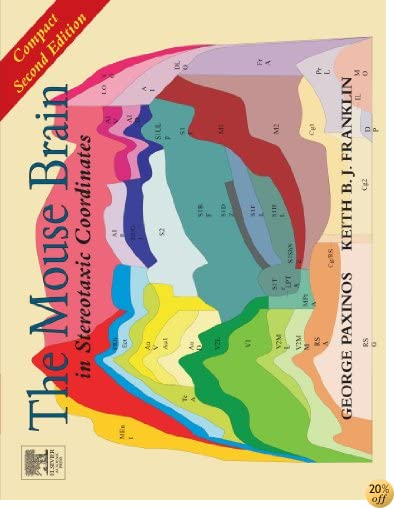 TThe Mouse Brain in Stereotaxic Coordinates: Compact Second Edition