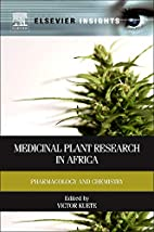 Medicinal Plant Research in Africa:…