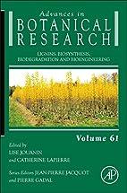 Lignins, Volume 61: Biosynthesis,…