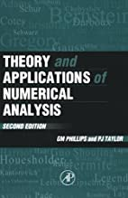 Theory and Applications of Numerical…