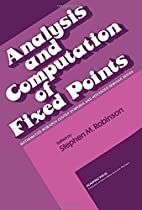 Analysis and computation of fixed points by…
